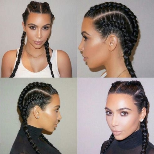 Featured Photo of Kim Kardashian Braided Hairstyles
