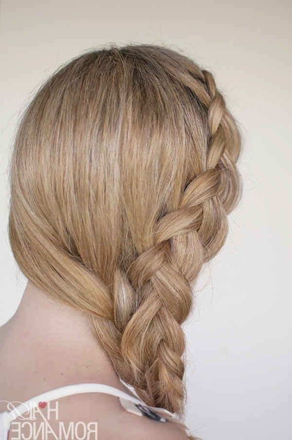 Hairstyle Tutorial – Dutch Side Mermaid Braid – Hair Romance Throughout Latest Mermaid Braid Hairstyles (View 14 of 15)