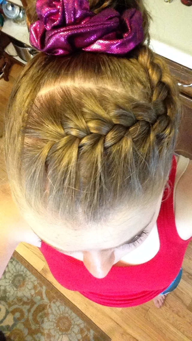 Hairstyles For Gymnastics Awesome Gymnastics Hairstyles For Petition For Most Recent Braided Gymnastics Hairstyles (View 6 of 15)