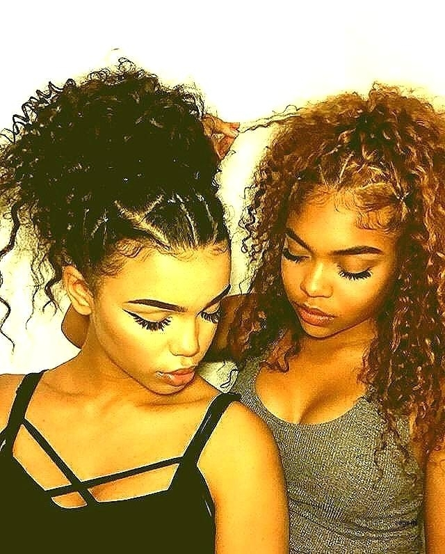 Hairstyles For Naturally Curly Hair Or Braided Hairstyles For Intended For 2018 Braided Hairstyles For Naturally Curly Hair (View 5 of 15)