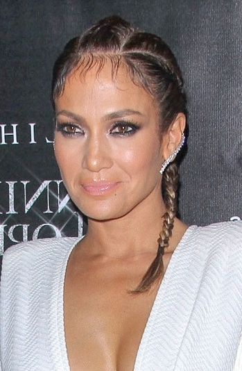 Hairstyles: Jennifer Lopez – Braided Hairstyle Regarding Newest Jennifer Lopez Braided Hairstyles (View 4 of 15)