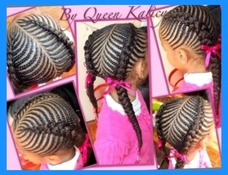 Hairstyles Little Girls Braids Little Girl Braiding Hairstyles With Newest Braided Hairstyles For Little Girls (View 13 of 15)