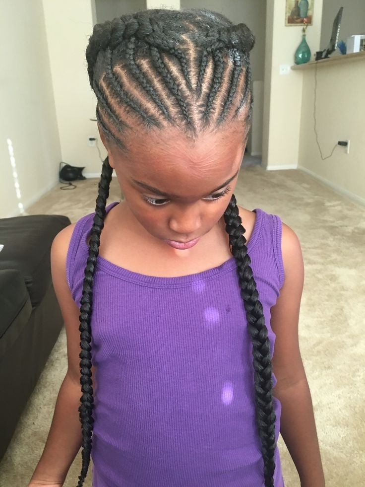 Hairstyles With Fake Hair 8 Best Hair Images On Pinterest Protective Within Most Recently Braided Hairstyles With Fake Hair (View 12 of 15)