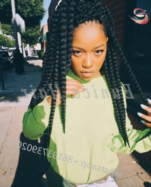 Hairstyles With Fake Hair Fake Hair Havana Twist African Hair Within Most Up To Date Braided Hairstyles With Fake Hair (View 14 of 15)