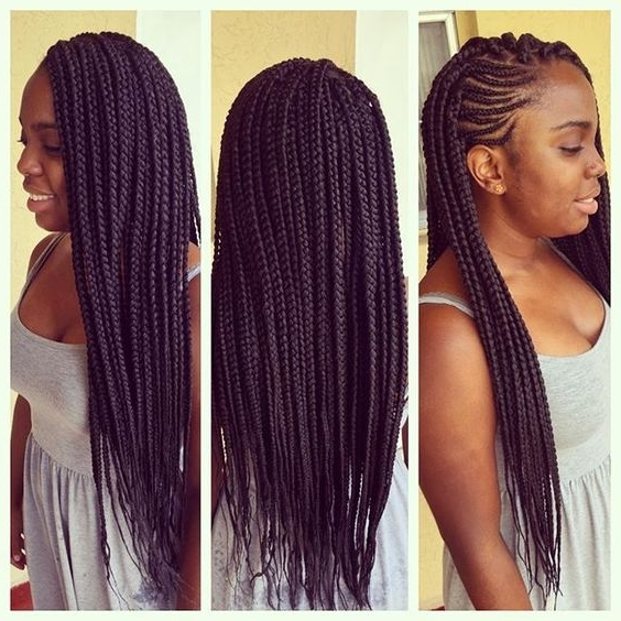 Half Cornrows Half Box Braids | Find Your Perfect Hair Style Throughout Most Up To Date Half Cornrows Half Individual Braids (View 8 of 15)