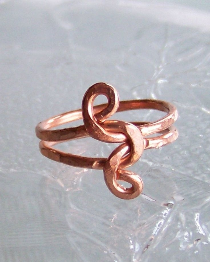Hammered Copper Jewelry | Ring Sz  (View 8 of 15)