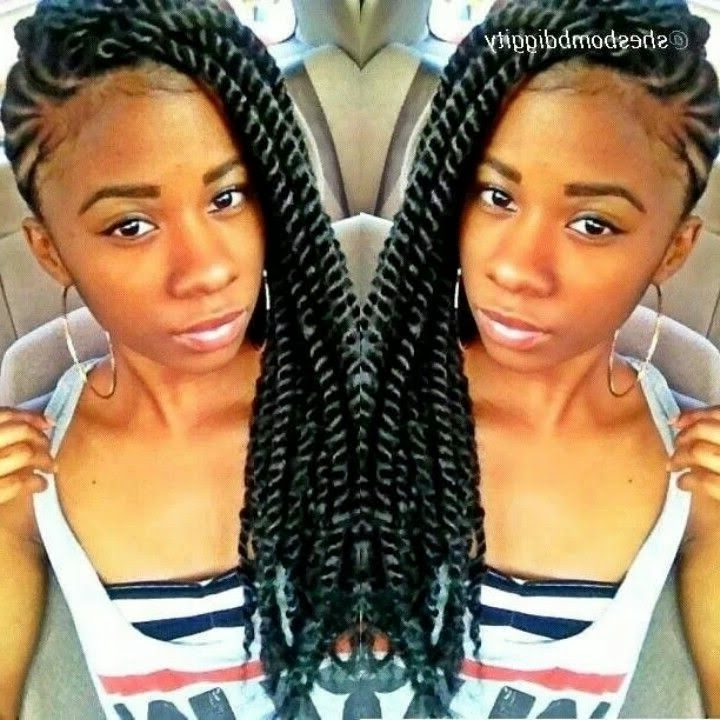 Havana Twists Cornrow Braids – Thirstyroots: Black Hairstyles For Most Recently African American Side Cornrows Hairstyles (View 13 of 15)