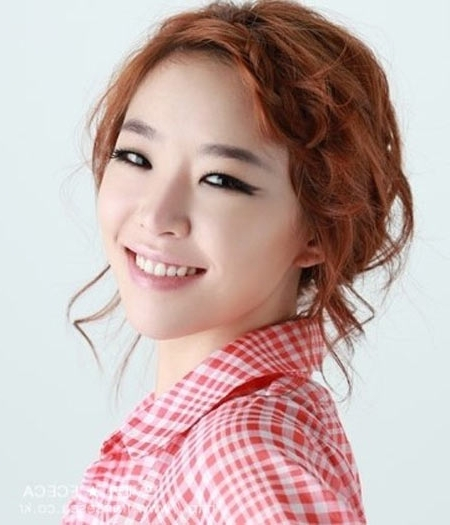 Having Front Braid/plait Hairstyles As Cute As Korean Celebrities Inside Most Current Korean Braided Hairstyles (View 6 of 15)