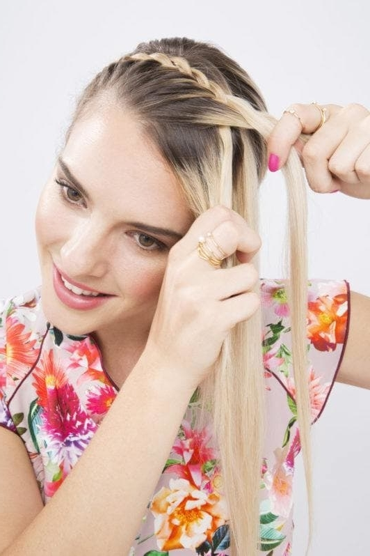 Headband Braid: Step By Step Tutorial Pertaining To Most Current Cornrows Enclosed By Headband Braid Hairstyles (View 15 of 15)