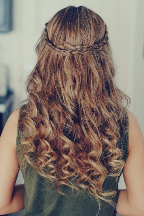 Heart Braid Hairstyle Tutorial For Valentine 2015 : Heart Braid In Most Recently Heart Braided Hairstyles (View 7 of 15)