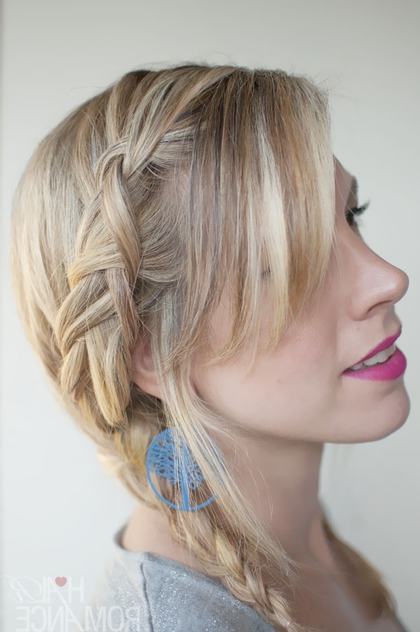Holiday Hairstyle Ideas: Trendy Double Dutch Braids Into Pigtails Throughout Most Up To Date Pigtails Braided Hairstyles (View 5 of 15)