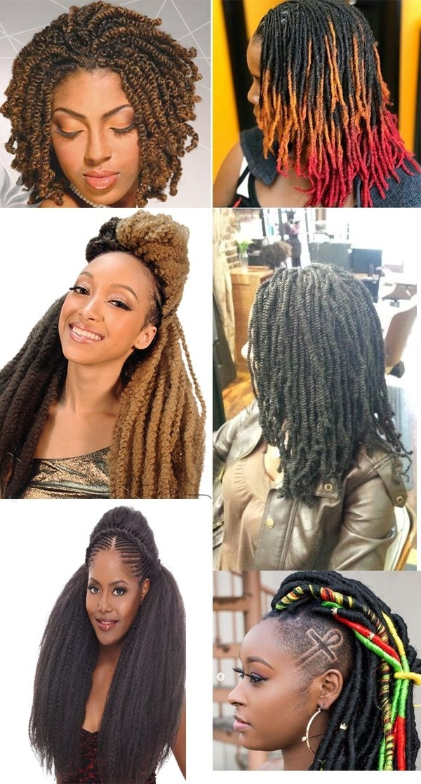 Hot Sale Braid Hair For African American Women #nubiantwists #wigs Within 2018 Braided Hairstyles With Color (View 11 of 15)