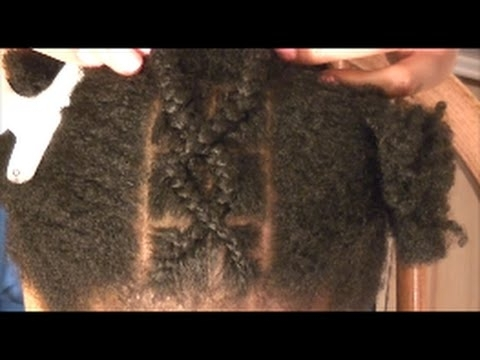 How To Cross/ Criss Cross Braids For Beginners (Easily) – Youtube Throughout Most Recently Mohawk With Criss Crossed Braids (View 13 of 15)