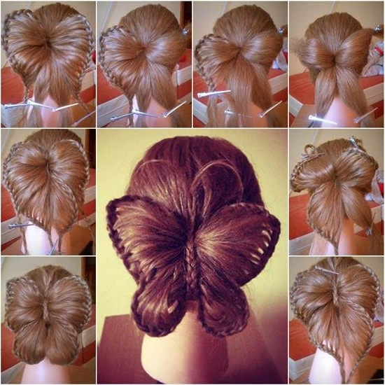 How To Diy Butterfly Braid Hairstyle Pertaining To Best And Newest Diy Braided Hairstyles (View 5 of 15)