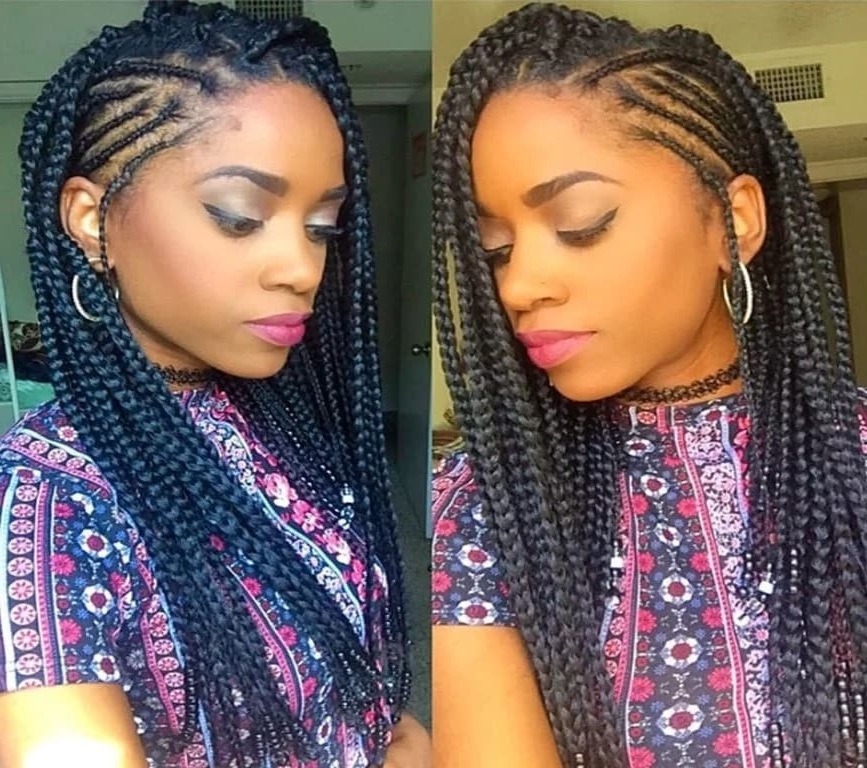 How To Do Fulani Braids With Crochet ? Naija (View 12 of 15)