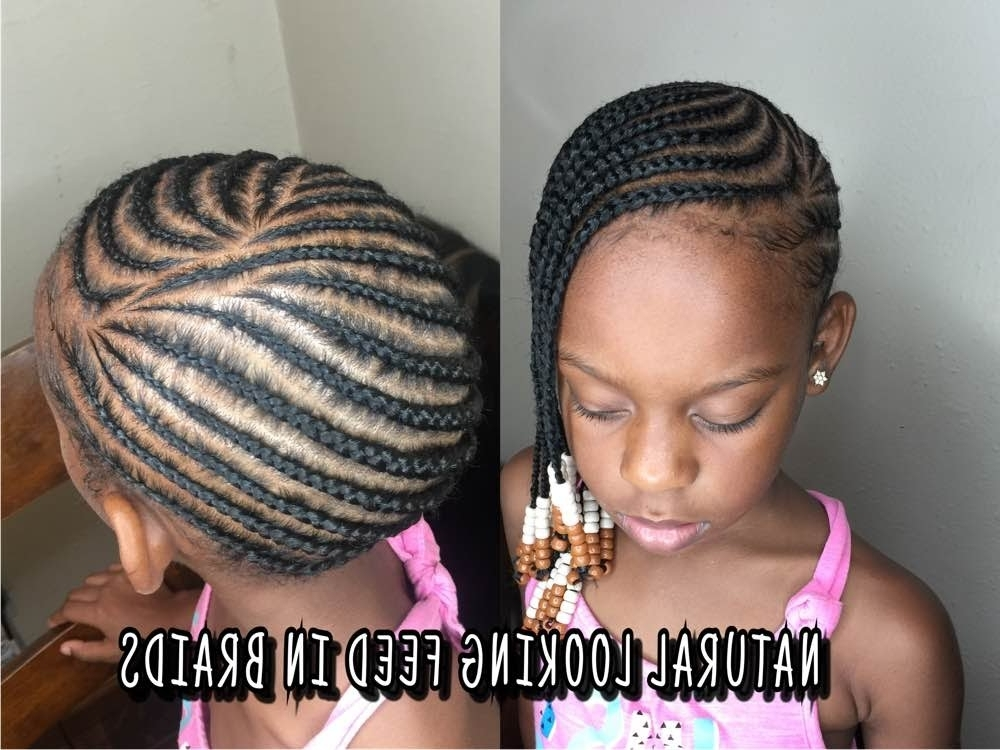 How To Do Lemonade Feed In Braids Detailed Tutorial – Youtube Throughout 2018 Updo With Thin Wavy Feed Ins (View 10 of 15)