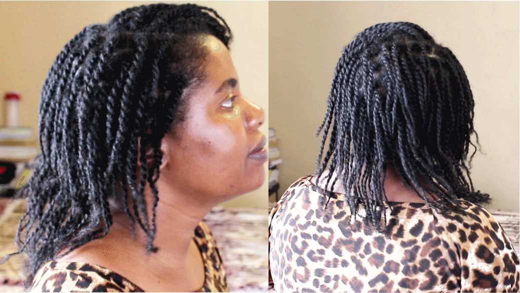 How To Do Mini Twists On Natural Hair – Natural Sisters – South In Best And Newest Mini Cornrows Hairstyles (View 15 of 15)