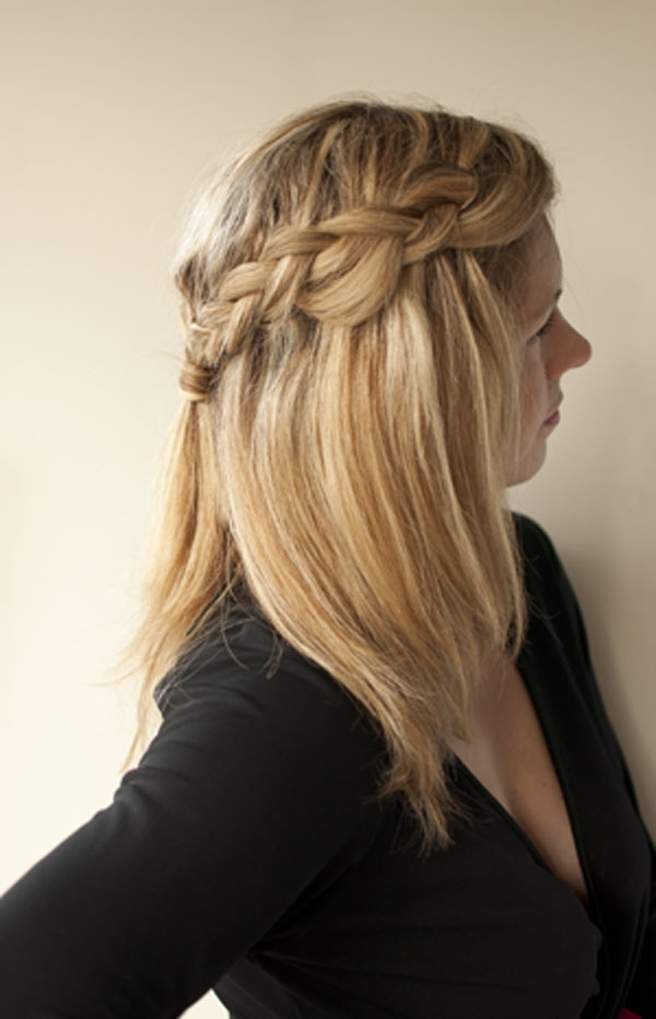 How To Easy Braid Hairstyle – Hair Romance Reader Question – Hair Regarding Most Recently Down Braided Hairstyles (View 13 of 15)