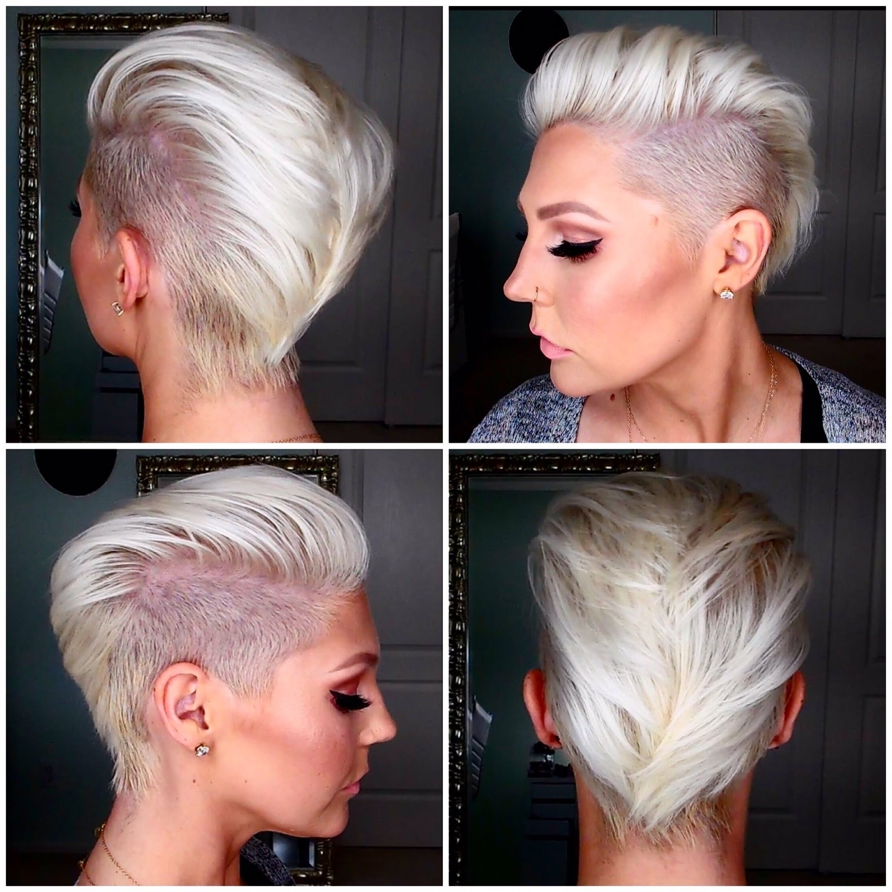 How To Get & Maintain Short Platinum Blonde Hair – Youtube Throughout Most Recently Bleach Blonde Pixie Haircuts (View 5 of 15)