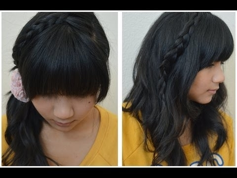 How To: Japanese Inspired Summer Braided Hair Styles – Youtube With Most Recent Japanese Braided Hairstyles (View 3 of 15)