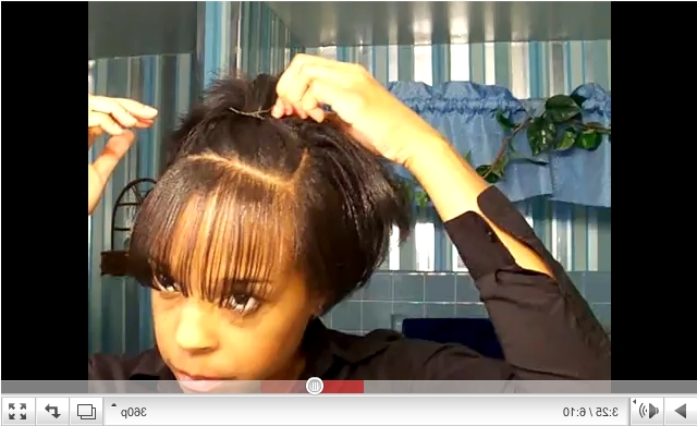How To Manage Short Relaxed Hair With Newest Braided Hairstyles For Relaxed Hair (View 4 of 15)