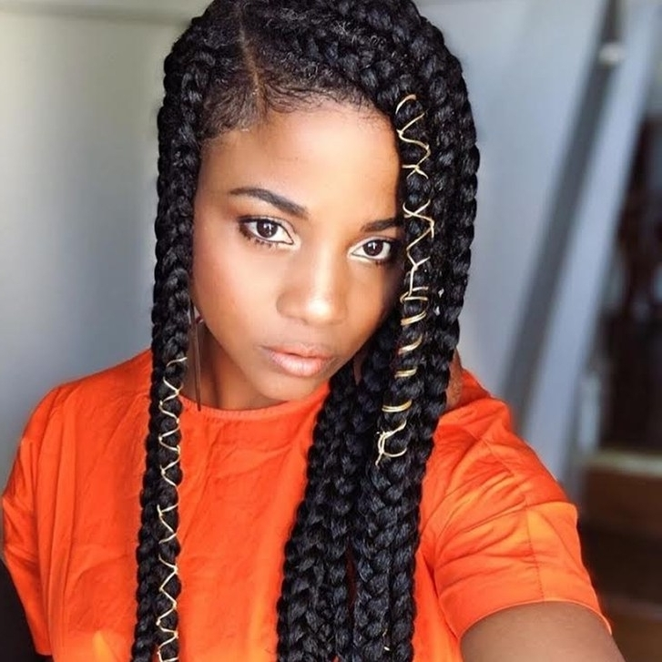 How To Style Baby Hair – 15 Styling Tips For Your Edges | Allure Inside Most Up To Date Braided Hairstyles Without Edges (View 12 of 15)