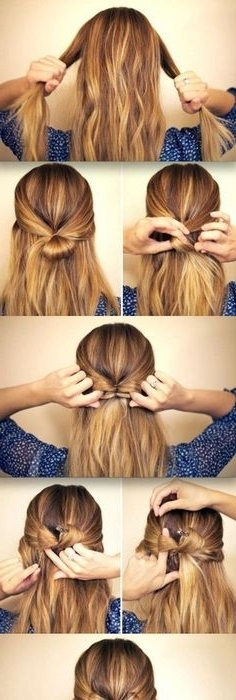Featured Photo of Elegant Bow Braid Hairstyles