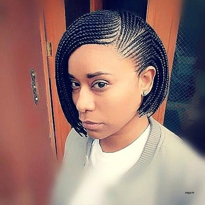 Ideas Bob Braid Hairstyles Or Pixie Bob Braids Hairstyles Pictures Pertaining To Recent Cornrows Bob Hairstyles (View 13 of 15)