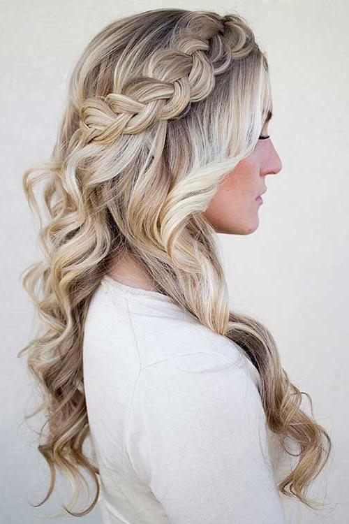 Image Result For Bridal Hair Crown | Crowns | Pinterest | Plait Intended For Most Recent Braided Hairstyles For Bridesmaid (View 8 of 15)
