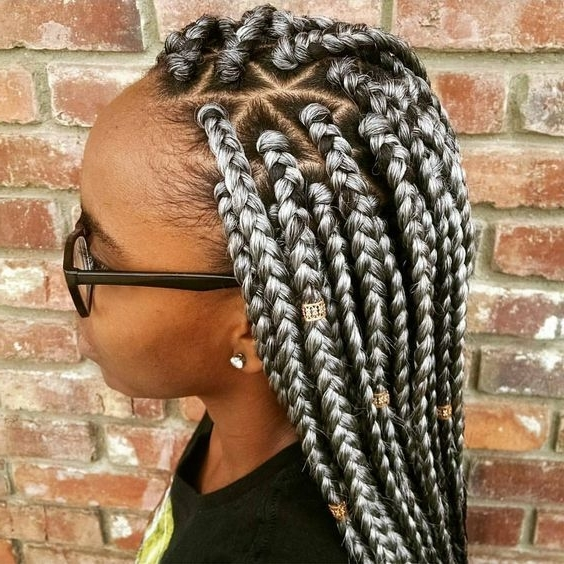 Image Result For Jumbo Triangle Part Braids | Natural Hair Ideas In Latest Bold Triangle Parted Box Braids (View 2 of 15)