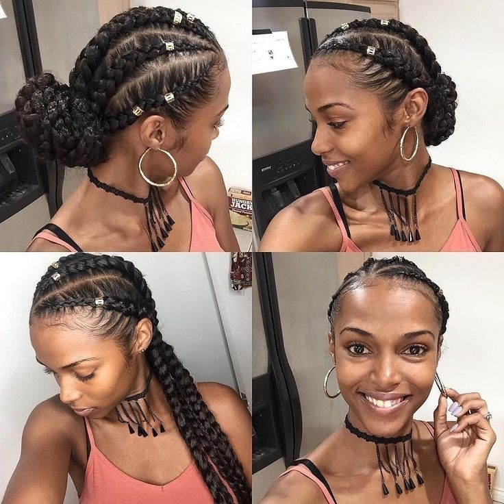 Image Result For Vacation Black Hair Braids | Vacation 2017 Within Most Popular Braided Hairstyles For Vacation (View 2 of 15)
