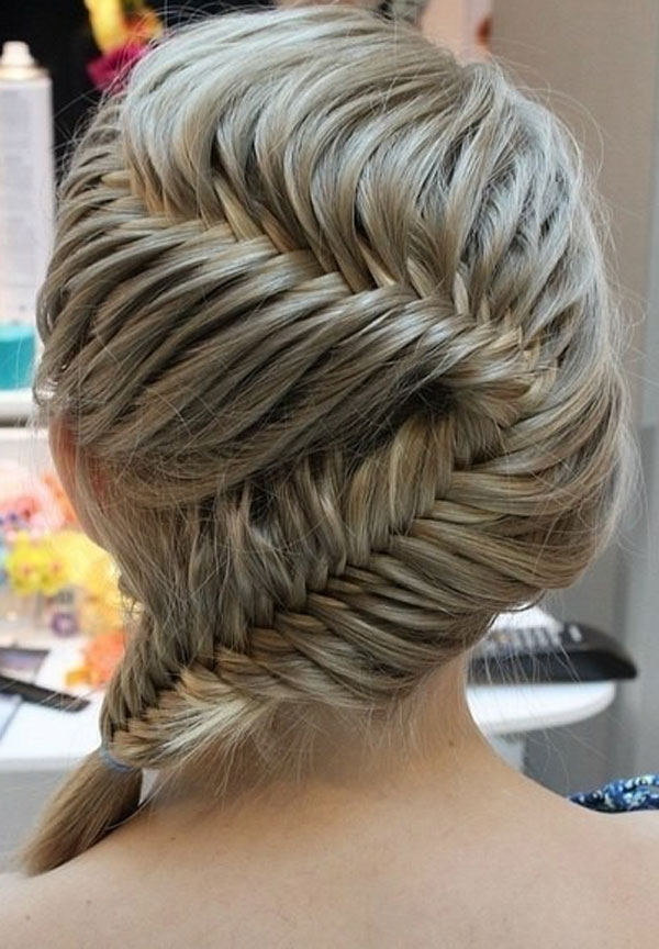 Images Of Easy Hair Braids For Girls – #spacehero Regarding Most Recently Simple French Braids For Long Hair (View 12 of 15)