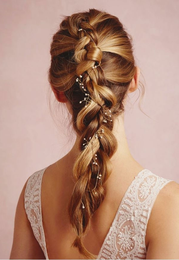 Incredibly Romantic Braid Hairstyles To Try – Thefashionspot With Most Recent Flowy Side Braid Hairstyles (View 11 of 15)