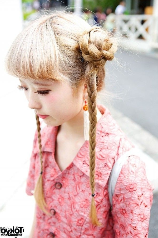 Inspirational Japanese Braided Hairstyles – Life Style Info Pertaining To Current Japanese Braided Hairstyles (View 6 of 15)
