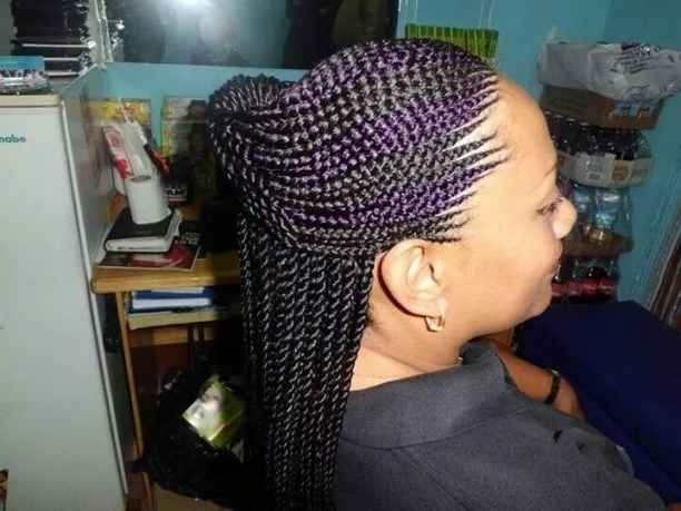 Featured Photo of Invisible Cornrows Hairstyles