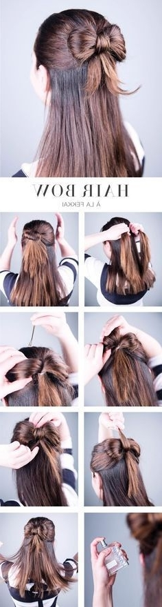 It Has Come To My Attention That Many Of My Friends Don't Know How Throughout Recent Thin Double Braids With Bold Bow (View 4 of 15)