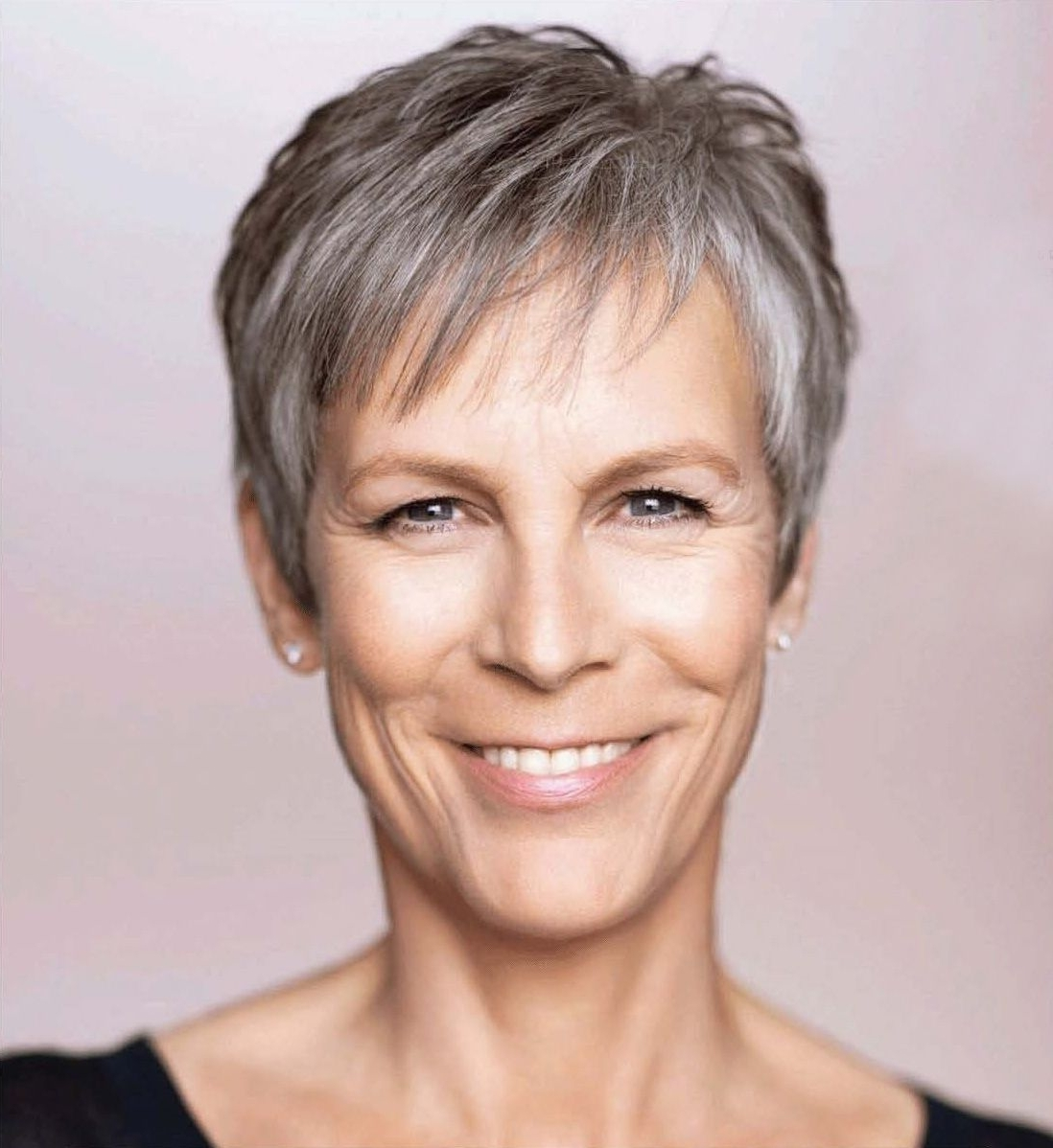 Jamie Lee Curtis Haircut Back View | Jamie Lee Curtis Hairstyle inside Recent Imperfect Pixie Haircuts