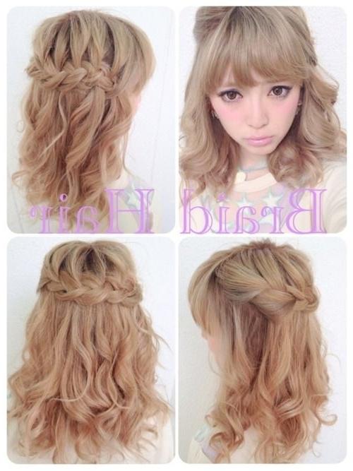 Japanese | Gyaru | Braid Hair | Asian Style | Pinterest | Gyaru In 2018 Japanese Braided Hairstyles (View 4 of 15)