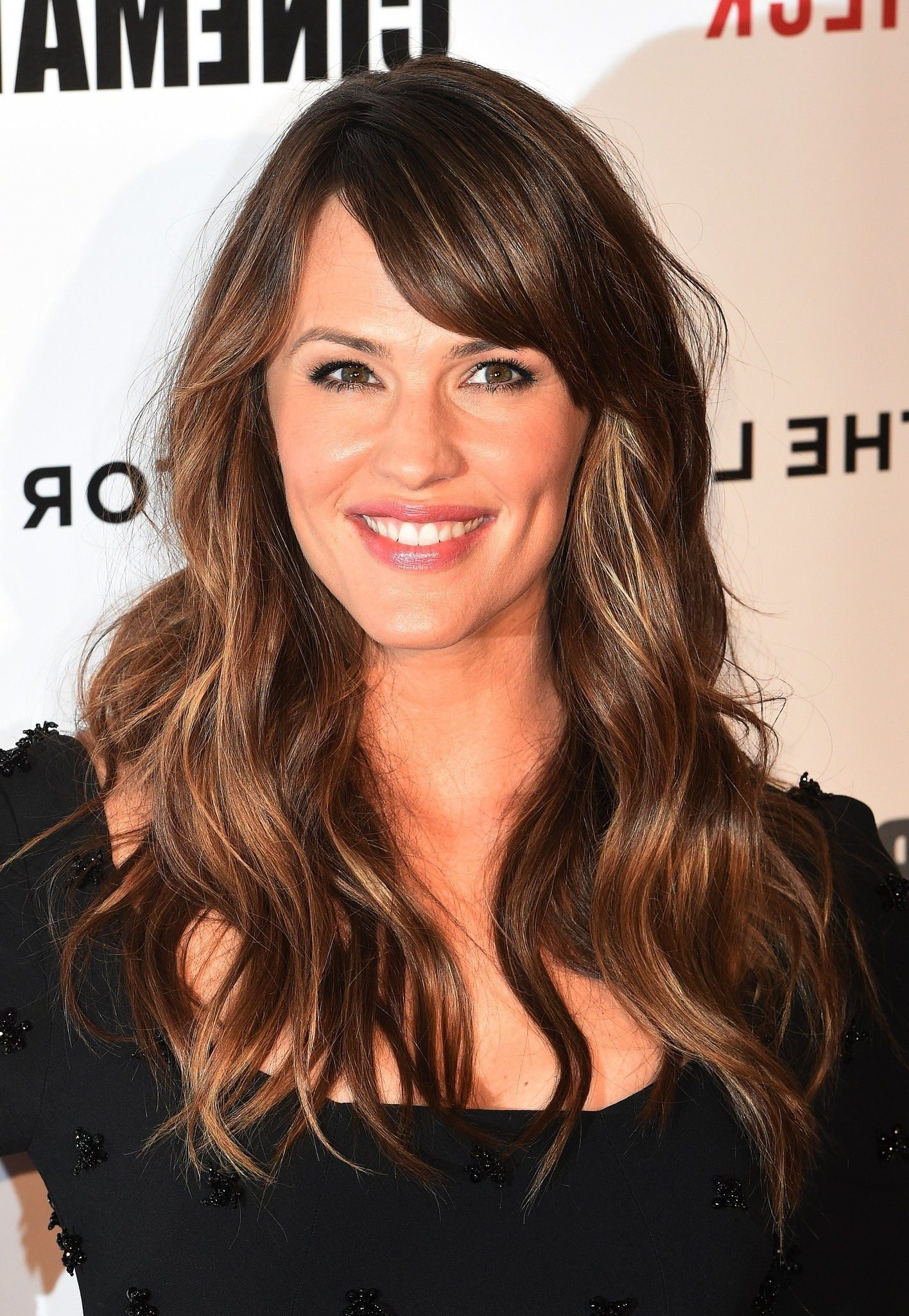 Jennifer Garner | Hair There And Everywhere | Pinterest | Long Bangs in Recent Cropped Tousled Waves And Side Bangs