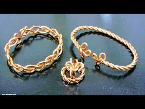 Jewelry Tutorial : How To Make A Celtic Weave Bracelet - 5 Strand within Most Current Side Top-Knot Ponytail With Copper Wire Wraps