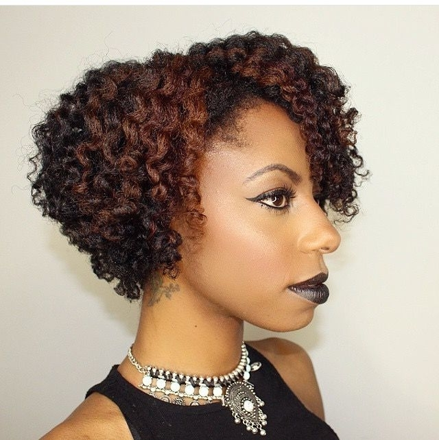 Jfashiongirl87 || Flat Twist Out. Natural Hair With Highlights regarding 2018 Exotic Twisted Knot Hairstyles