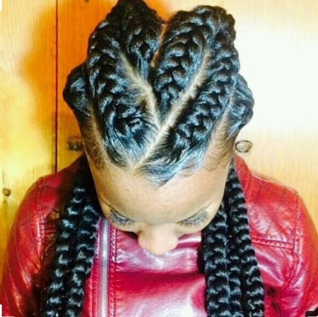 Jumbo Chunky Braid Cornrow Styles To Try – Beauty And Health with regard to Current Chunky Cornrows Hairstyles