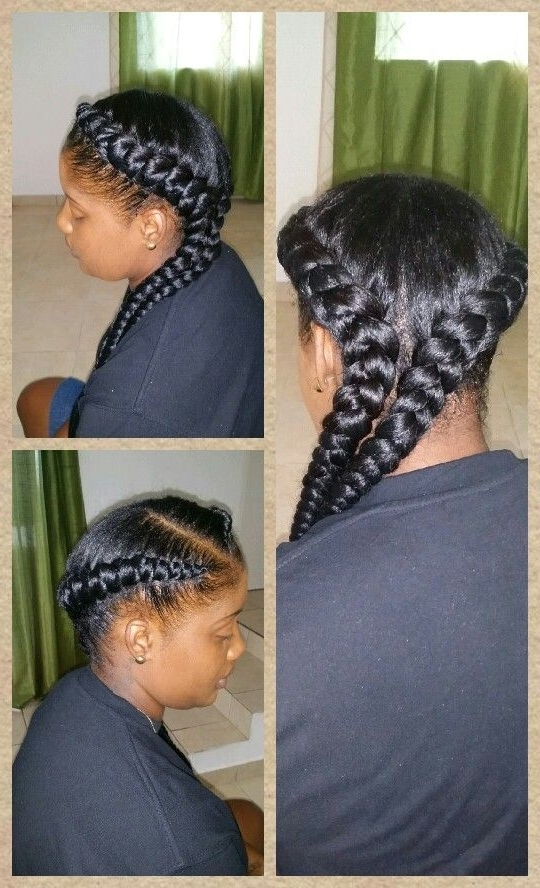 Jumbo Cornrow | Hairstyle Ideas N Inspiration | Pinterest | Cornrow throughout Most Current Jumbo Cornrows Hairstyles