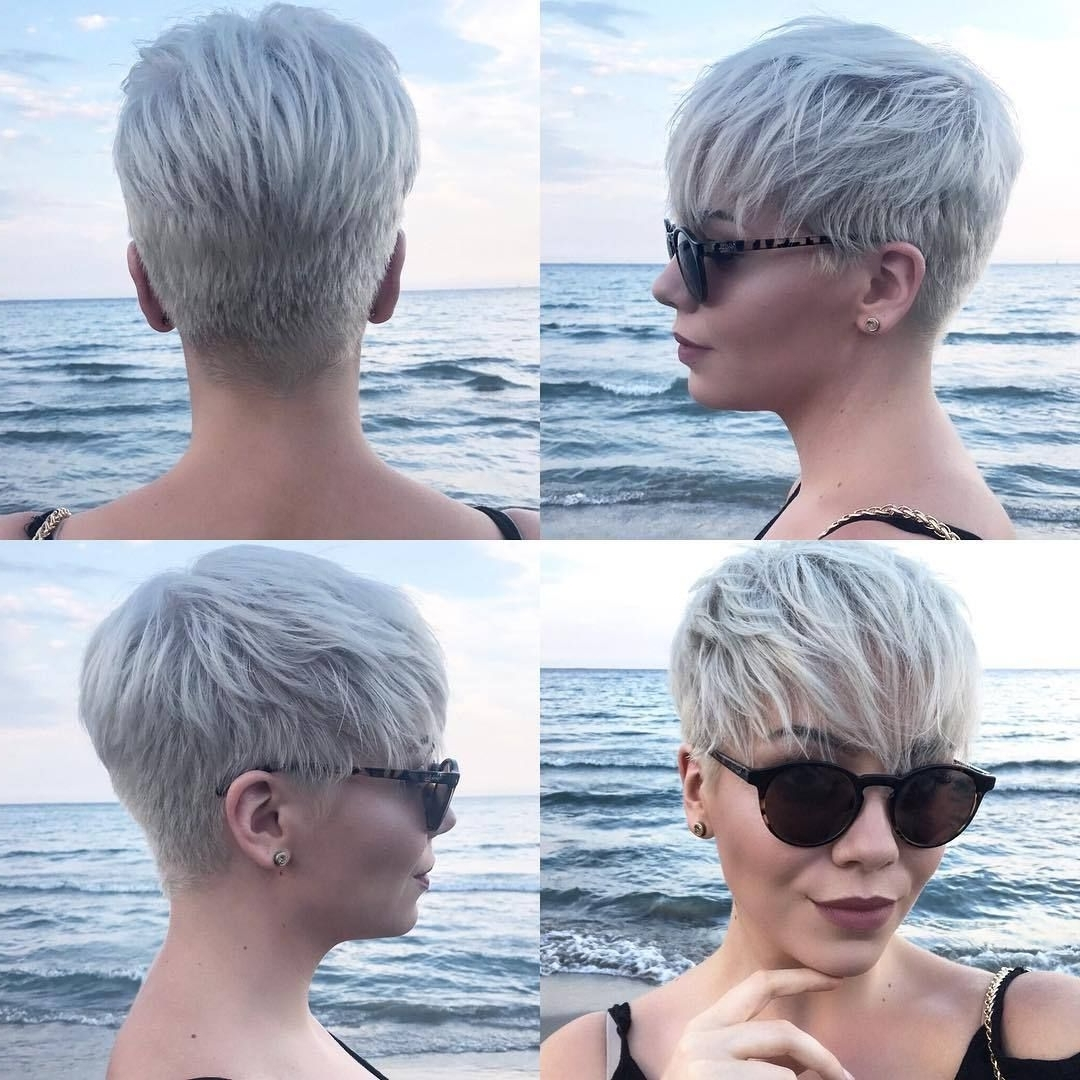 Just Short Haircuts, Nothing Else. If You're Thinking Of Getting An inside Latest Tousled Pixie With Undercut