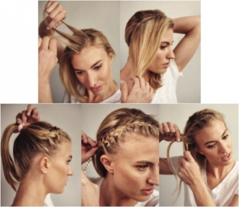 Keep Race Day Hair In Place With A Headband Braid | Women's Running With Regard To Newest Braided Hairstyles For Runners (View 6 of 15)