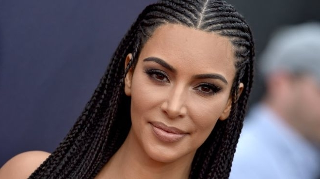 Kim Kardashian Defends Wearing Hair In Braids: 'i'm Not Tone Deaf With Best And Newest Kim Kardashian Braided Hairstyles (View 12 of 15)