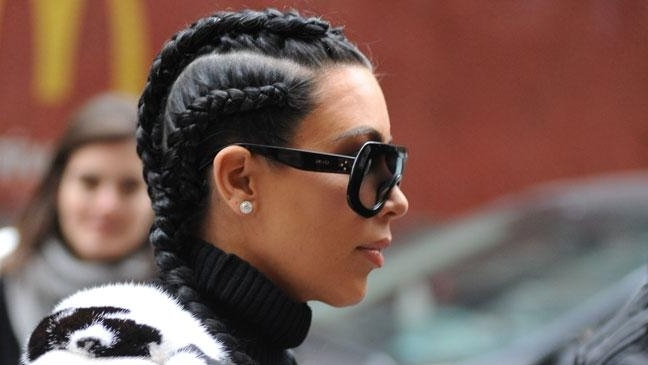 Kim Kardashian's Boxer Braids Hair Trend – How To Get The Look – Bt With Regard To Newest Kim Kardashian Braided Hairstyles (View 5 of 15)