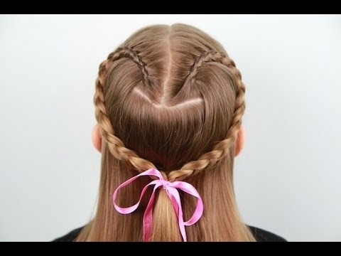 Featured Photo of Heart Braided Hairstyles