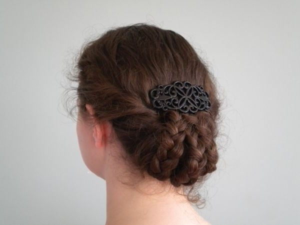 Late Victorian Triple Braided Tuck   Pinterest   Victorian, Hair Throughout Recent Braided Victorian Hairstyles (View 13 of 15)
