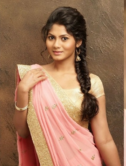 Latest Bridal Hairstyles For Wedding Sarees – Indian Hairstyles For For Newest Braid Hairstyles For Reception (View 5 of 15)